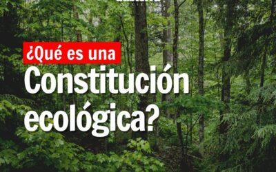 ¿Qué es una constitución ecológica?