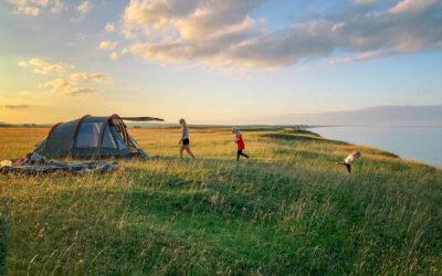 Consejos para acampar con niñ@s