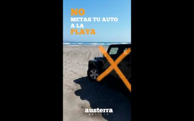 No metas tu auto a la playa